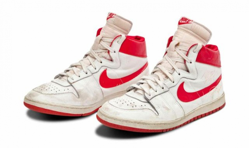 Michael Jordan's 1984 Nike Air Ship trainers break records after selling for $1.42m